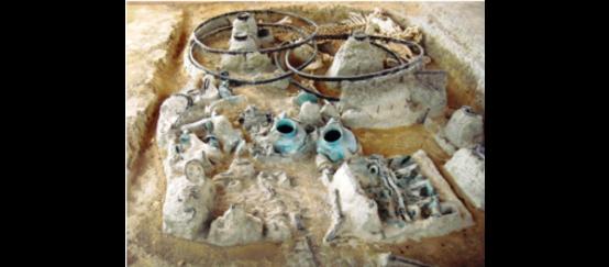 Ο Ταφικός Τύμβος της Δοξιπάρας με τις θαμμένες άμαξες