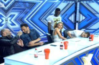 Τάμτα στο X Factor: Σχεδόν του φτάνει ως το γόνατο…