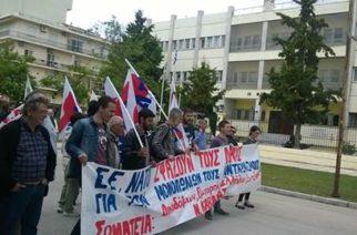 Συγκέντρωση-πορεία κατά της διέλευσης Νατοϊκών στρατευμάτων από τον Έβρο