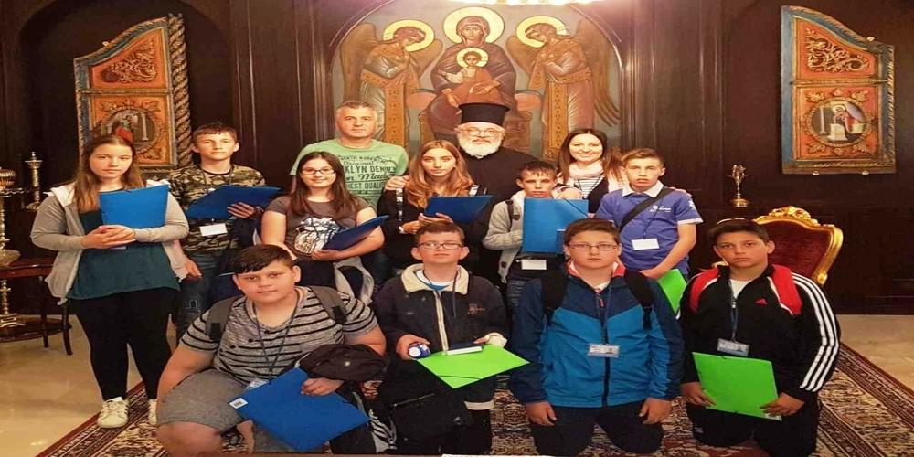 Οι μαθητές πήγαν… στην Μητρόπολη