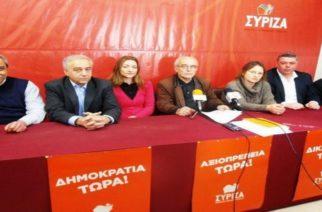 """Οι βουλευτές του ΣΥΡΙΖΑ που ήταν να φωνάξουν: """"ΝΑΤΟ, Φονιάδες των λαών"""";"""