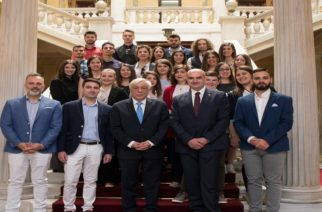 Άγνωστες στιγμές της επίσκεψης στον Πρόεδρο της Δημοκρατίας των Φοιτητών Ορεστιάδας (φωτό)