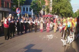 Εβρίτικο γλέντι με χορευτές απ' τις Φέρρες, στο Άσελτ του Βελγίου(video+φωτό)