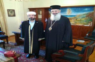 Αρμονική η συνύπαρξη Χριστιανών και Μουσουλμάνων τόνισαν Μητροπολίτης Αλεξανδρουπόλεως και μουφτής Διδυμοτείχου
