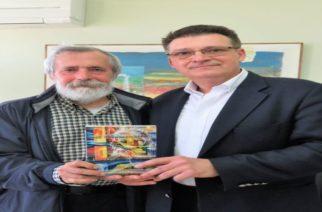 Συνάντηση Πέτροβιτς με τον κορυφαίο εβρίτη στιχουργό Λευτέρη Χαψιάδη