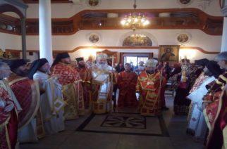 Συγκινητική Θεία Λειτουργία στον Άγιο Γεώργιο Ανδριανούπολης παρουσία πολλών Ελλήνων