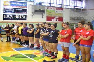 Γιορτή mini volley για κορίτσια δημοτικού από τη Νίκη Αλεξανδρούπολης