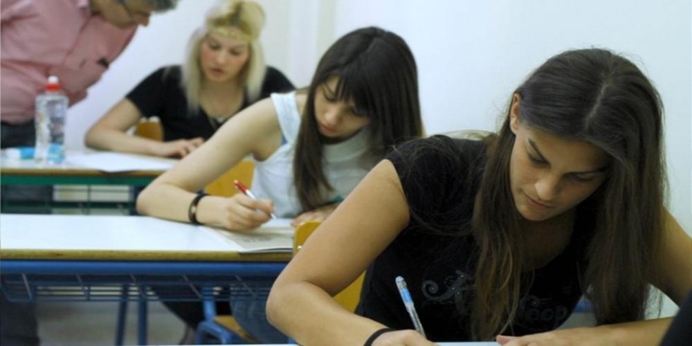 Αρχίζουν οι Πανελλαδικές: Μαθητές, γονείς ΨΥΧΡΑΙΜΙΑ. Δεν τελειώνει τίποτα με τις εξετάσεις