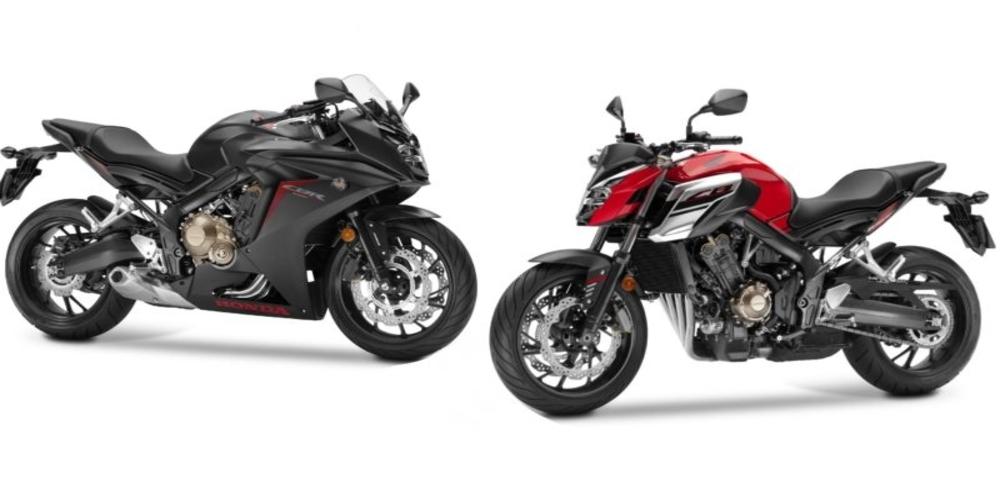 Παρουσίαση: Οι μηχανές Honda CBR650F και CB650F
