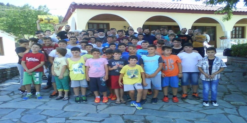 Πρόσκληση για τις καλοκαιρινές κατασκηνώσεις από την Μητρόπολη Διδυμοτείχου