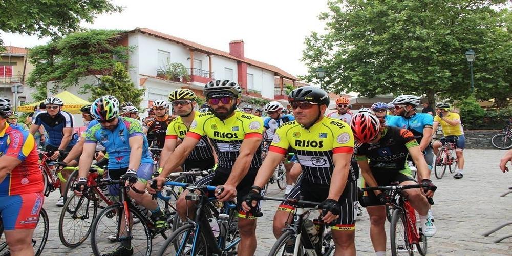 """""""Ποδηλασία=Υγεία"""" με τον Ολυμπιονίκη Γιώργο Χειμωνέτο στην Ορεστιάδα"""
