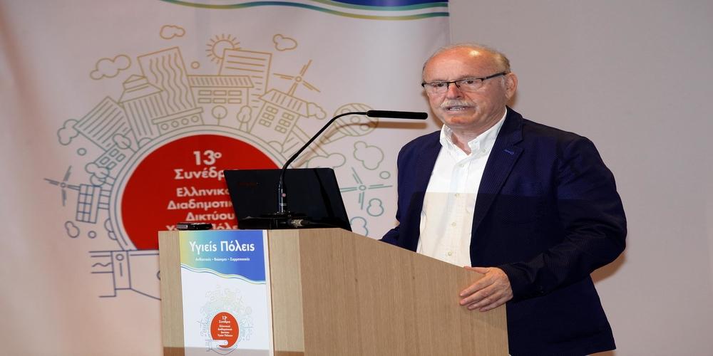 Πατσουρίδης: Η πιο ιστορική πόλη της Θράκης θα φιλοξενήσει με επιτυχία το Συνέδριο Υγειών Πόλεων(video)