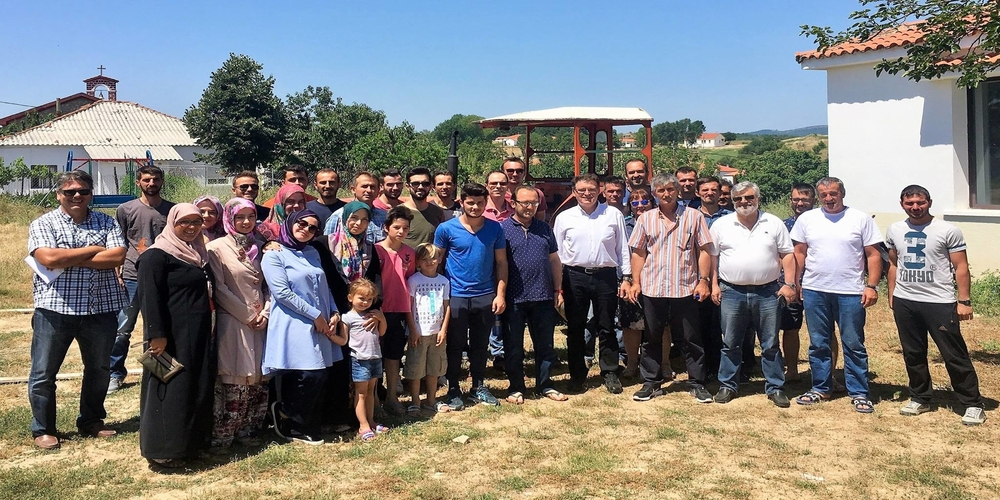 Δίπλωμα τρακτέρ σε 43 νέους αγρότες και αγρότισσες στο Μεγάλο Δέρειο, παρουσία Πέτροβιτς