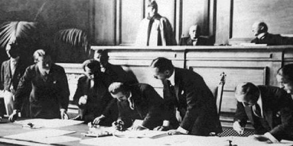 Σαν σήμερα υπογράφηκε η Συνθήκη της Λωζάνης. Χάσαμε την Ανατολική Θράκη ΜΑΣ, Ίμβρο και Τένεδο