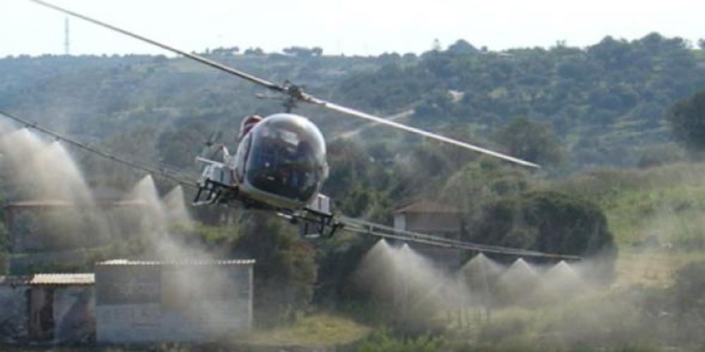 ΠΡΟΣΟΧΗ: Τα ελικόπτερα δεν θα…ψεκάσουν αύριο αλλά το πρωί της Παρασκευής