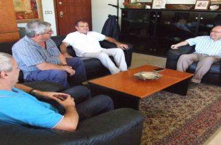 Συνάντηση Πατσουρίδη-νέου Διευθυντή του Εργοστασίου Ζάχαρης Ορεστιάδας