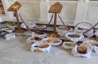 Το έθιμο της προσφοράς φρούτων στο Θεό, τήρησαν στο Νεοχώρι Ορεστιάδας