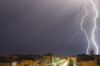 Τοπικές βροχές και μπουρίνια σήμερα στην Θράκη!!!