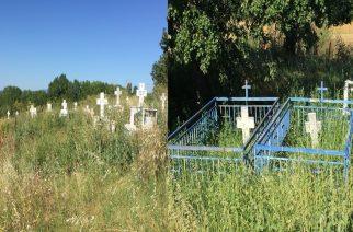 Σε τραγική κατάσταση τα νεκροταφεία Αλεποχωρίου Διδυμοτείχου (φωτό)