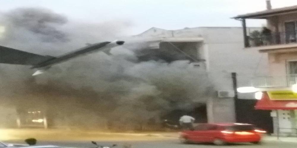 Διδυμότειχο: Ζημιές 100.000 ευρώ από την φωτιά χθες βράδυ στο κατάστημα ηλεκτρονικών