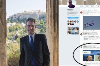 Ο Αμερικανός Πρέσβης κοινοποίησε το δημοσίευμα του evros-news.gr για το Διεθνές Συνέδριο Αλεξανδρούπολης