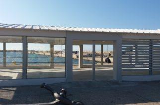 Λιμάνι Αλεξανδρούπολης: Η καλοκαιρινή περίδος τελείωσε, αλλά τα κιόσκια ακόμα να ολοκληρωθούν