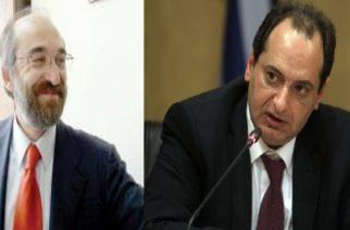 Συμφώνησαν για τη μεγάλη περιφερειακή οδό, Λαμπάκης και Σπίρτζης στην Αθήνα