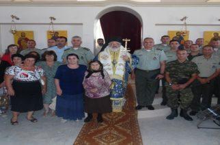 Δίπλα στη μοναδική χριστιανική οικογένεια της μουσουλμανοκρατούμενης Ρούσας, Μητροπολίτης και Στρατηγός