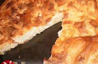 Η παραδοσιακή πίτα Μηλίνα του Έβρου διαφημίζεται στην προωθητική καμπάνια της AEGEAN