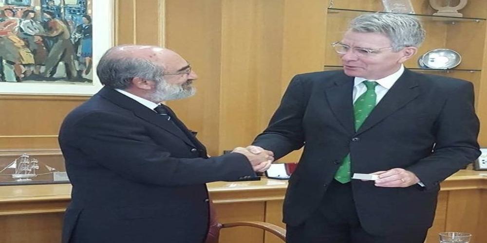 Τί συζήτησαν Λαμπάκης και πρέσβης των ΗΠΑ που συναντήθηκαν το πρωί