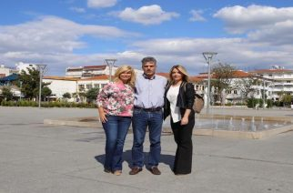Όταν ο δήμαρχος Βασίλης Μαυρίδης συνάντησε τη… Ζίνα Κουτσελίνη του STAR