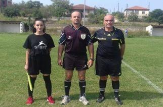 Μαρία Σκινδρή: Η μικρότερη διαιτητής της ΕΠΣ Έβρου στα χνάρια του πατέρα της