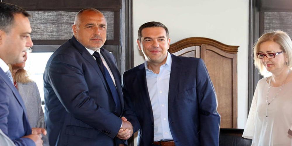 """Τσίπρας και Μπορίσοφ υπέγραψαν την """"Σιδηροδρομική Εγνατία"""""""