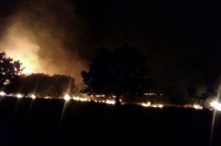 Πέτροβιτς-Γκότσης: Εμπρησμός οι φωτιές στην Πυλαία Φερών. Ξεκίνησαν ρίψεις δυο αεροπλάνα και ελικόπτερο(video+φωτό)