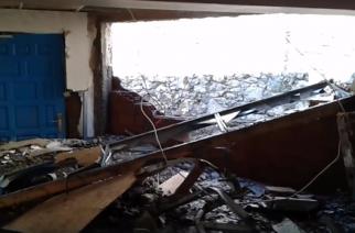 Σαμοθράκη: Συγκλονιστικό βίντεο με το εσωτερικό του δημαρχείου να είναι βομβαρδισμένο τοπίο