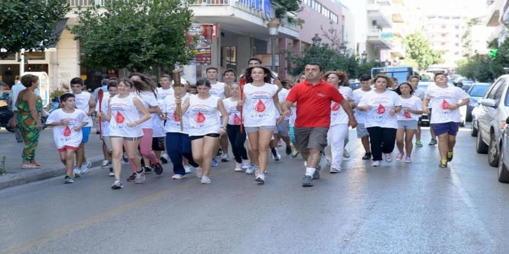 Από το Ορμένιο ξεκινάει αύριο η 15η Λαμπαδηδρομία Εθελοντών Αιμοδοτών