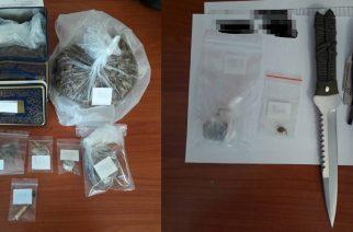 Σαμοθράκη: Τους συνέλαβαν λίγο πριν τη θεομηνία για κατοχή ναρκωτικών