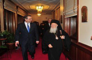"""Στην Ορεστιάδα ο Αντώνης Σαμαράς για την επίσκεψη του Οικουμενικού Πατριάρχη και """"Έτος Καραθεοδωρή"""""""