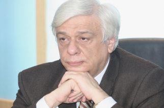 Τηλεφώνημα συμπαράστασης του Προέδρου της Δημοκρατίας Προκόπη Παυλόπουλου στον δήμαρχο Σαμοθράκης