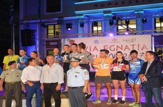 Αλεξανδρούπολη: Απόλυτη επιτυχία με πάνω από 400 συμμετοχές το Via Egnatia Run