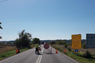 ΕΚΛΕΙΣΕ πριν λίγο ο δρόμος Βάλτος-Φυλάκιο. ΄Αρχισαν τα έργα (φωτορεπορτάζ)