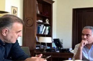Άκουσε λόγια συμπάθειας και υποσχέσεις απ' τον Σκουρλέτη ο δήμαρχος Σαμοθράκης, αλλά χρήματα… γιοκ