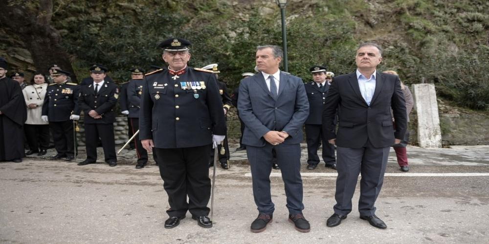 Θεοδωράκης από Σαμοθράκη: Χωρίς τους ακρίτες μας η Ελλάδα δεν υπάρχει(φωτό+video)