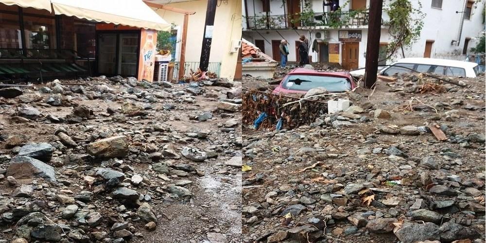 """Παναγιώτης Παππάς για αποκατάσταση ζημιών στη Σαμοθράκη: """"Δεν είμαι καθόλου αισιόδοξος"""""""