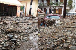 Καταστράφηκε το δίκτυο ύδρευσης. Έχουμε τεράστιο πρόβλημα λέει ο δήμος Σαμοθράκης