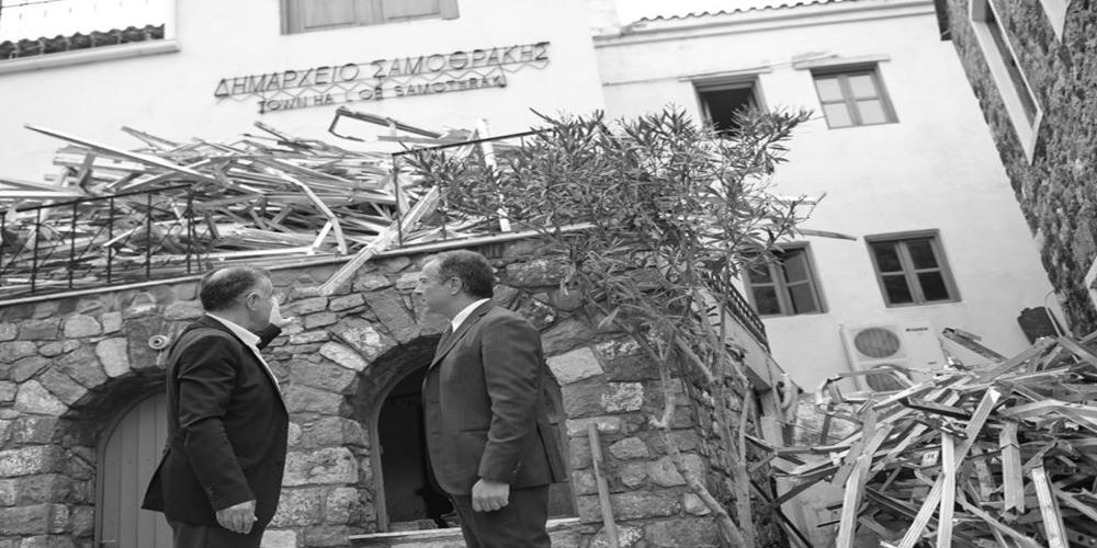 Θεοδωράκης: Γιατί πήγα στη Σαμοθράκη και τι πρέπει να γίνει άμεσα (φωτό)