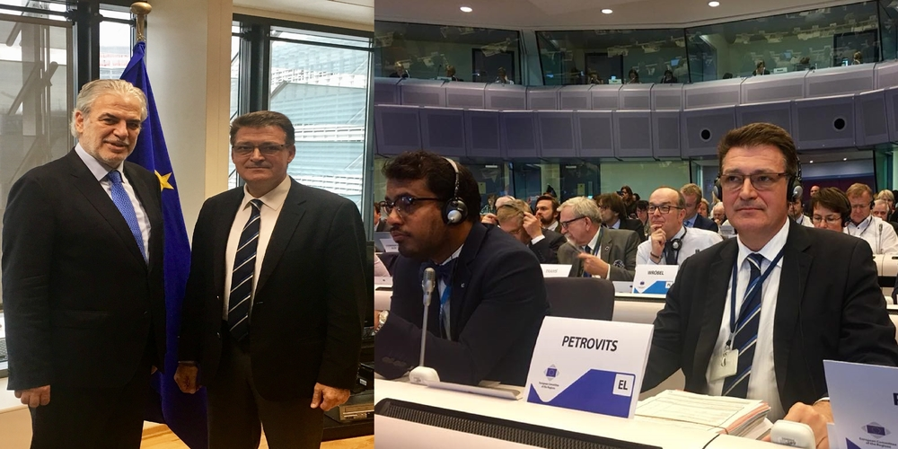 Για τις καταστροφές στη Σαμοθράκη ενημέρωσε τον Ευρωπαίο επίτροπο ο Αντιπεριφερειάρχης Δημήτρης Πέτροβιτς