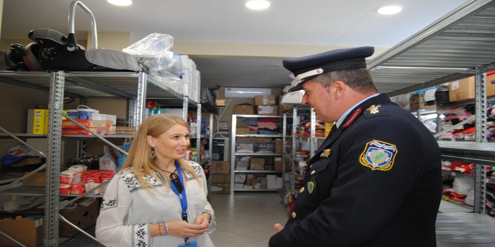 """Οι αστυνομικοί γιόρτασαν τον προστάτη τους Άγιο Αρτέμιο με προσφορά στο """"Χαμόγελο του Παιδιού"""""""