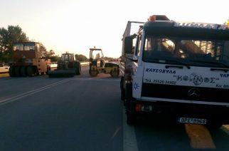 Παράπονα κατοίκων Αμορίου για την έλλειψη αερογέφυρας στο νέο κομμάτι Ψαθάδες-Κισσάριο