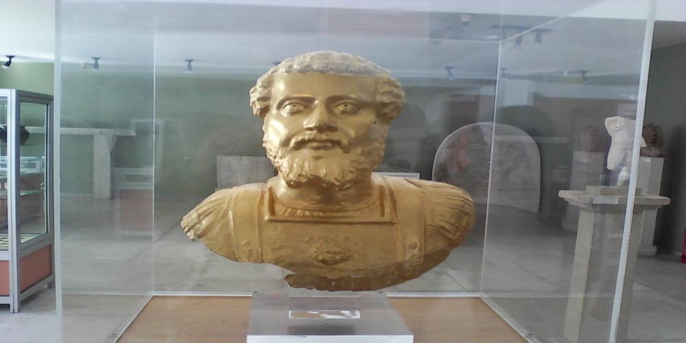 Η χρυσή προτομή που βρέθηκε στην Πλωτινόπολη πότε θα μεταφερθεί στο Διδυμότειχο;